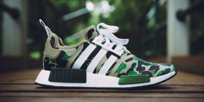 get cheap 503b6 54b98 Now You Can Have the BAPE X ADIDAS NMD R1!